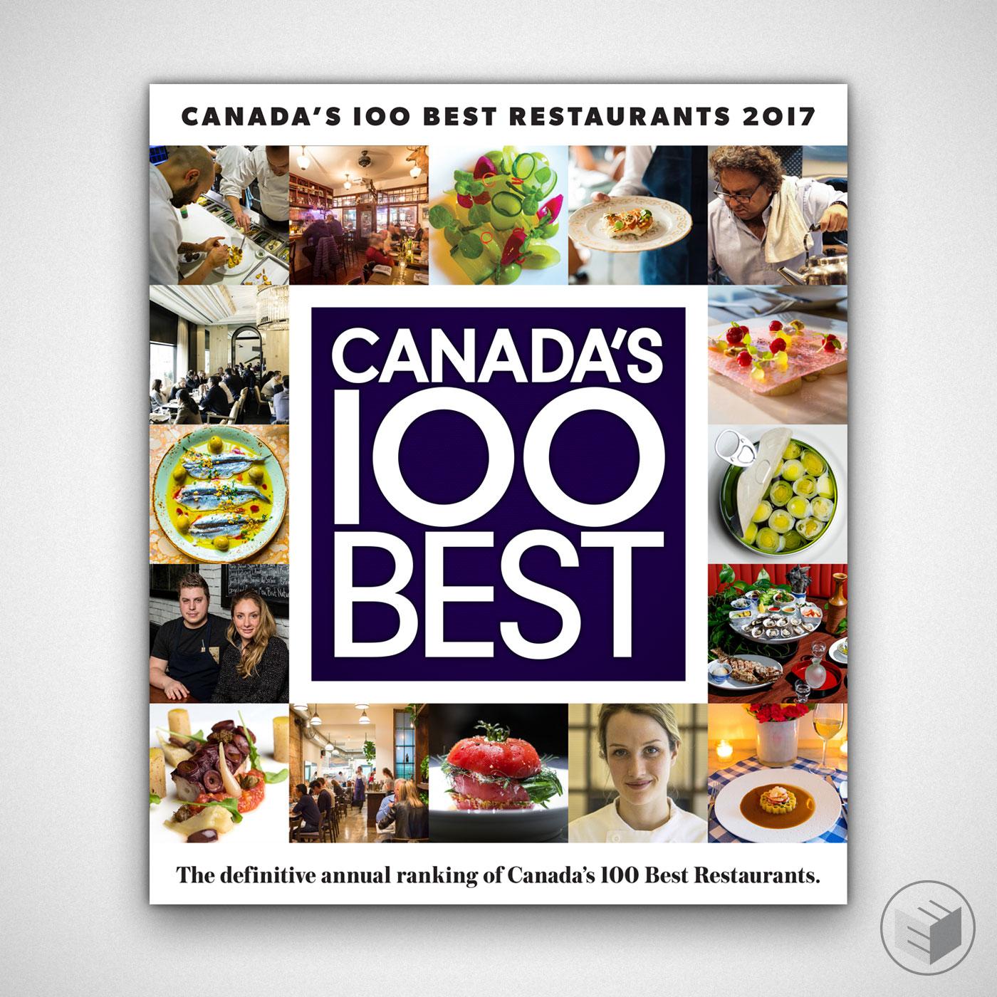CANADA'S 100 BEST RESTAURANTS 2017 COVER