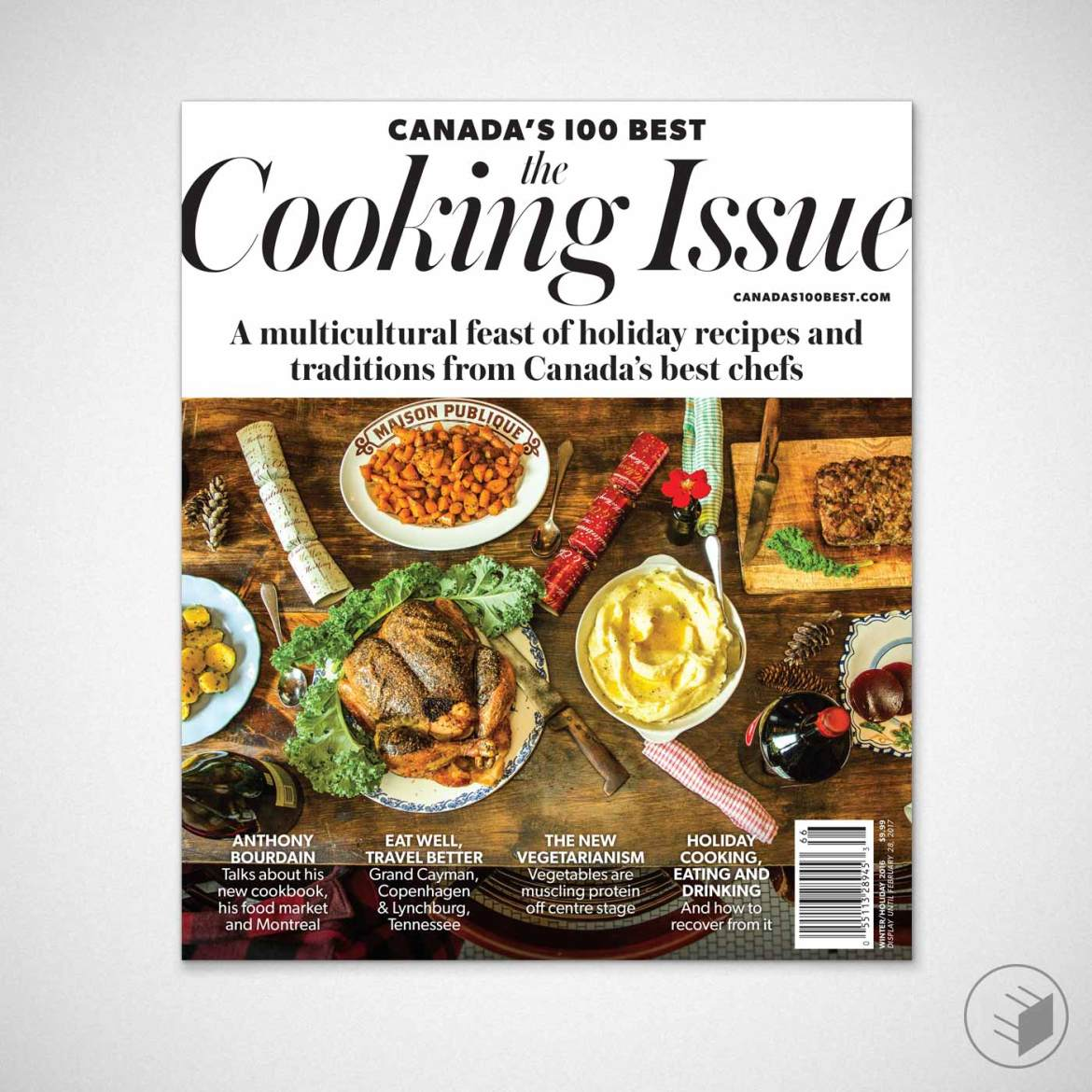 CANADA'S 100 BEST: THE COOKING ISSUE COVER