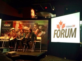 Pannel is getting started at Canada's Sport Hall of Fame