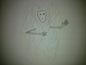 Pain Body, First Drawing