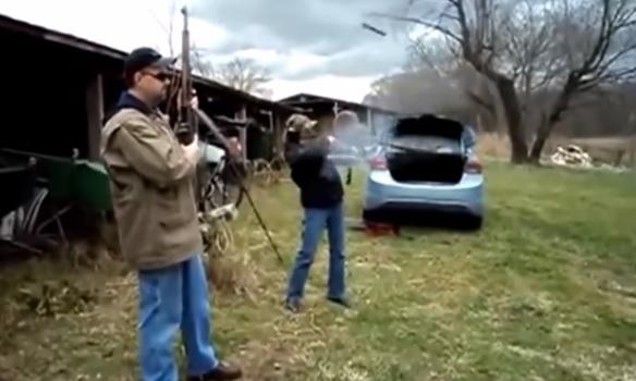 gun explosions