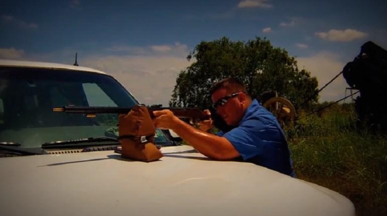 muzzleloader shoots ramrod