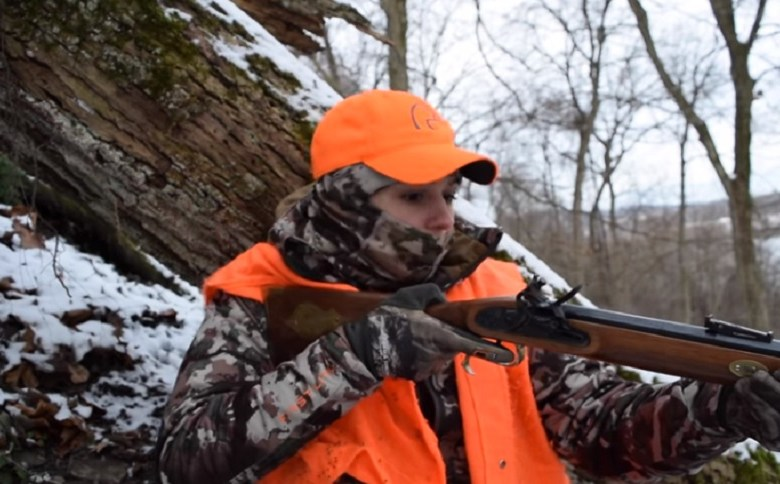 HUNTRESS'S FLINTLOCK FAIL IS STILL A DEER HUNTER'S SUCCESS