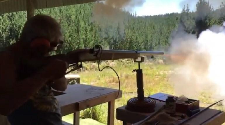 matchlock punt gun