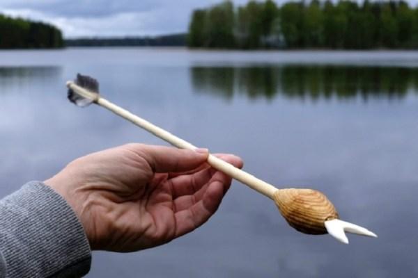 bouncing arrow