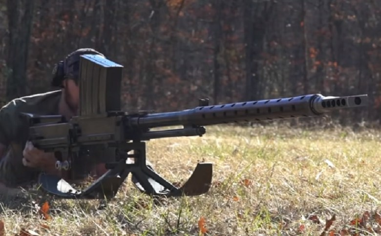 20MM LAHTI ANTI-TANK RIFLE VS. STEEL PLATES (VIDEO)