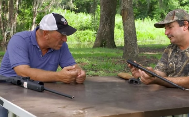 SWAMP PEOPLE DISCUSS BLOWN UP RIFLES