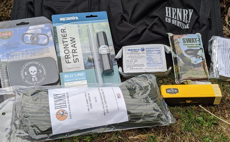 EVERYTHING YOU NEED? U.S. SURVIVAL PACK IN REVIEW