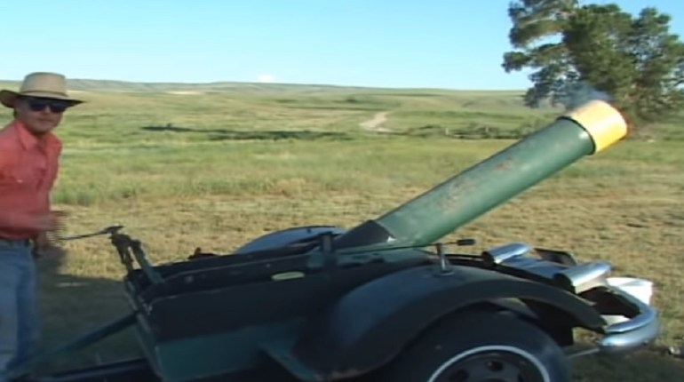 DIY cannon