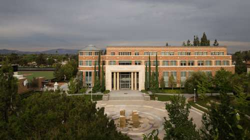 Chapman University Library Orange County Architectural Photography