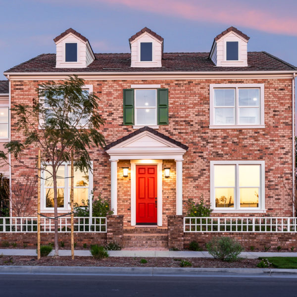 Twilight Irvine Colonial Orange County Real Estate Photography