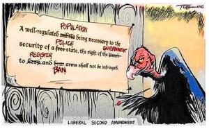 gun cartoon