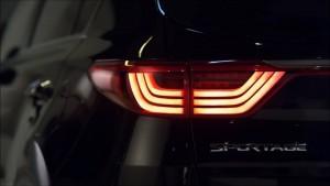 '17 Sportage tail light