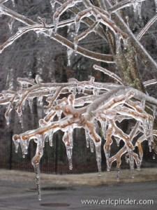 Ice storm.