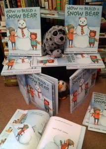 Snow Book Fort!