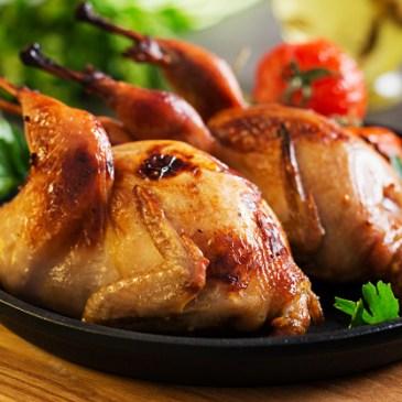 La caille, une viande riche en fer et à saveur fine