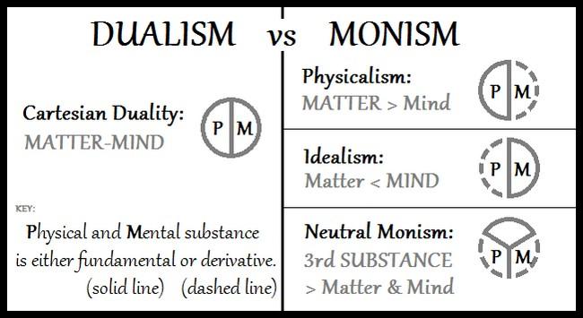 Dualism vs Monism