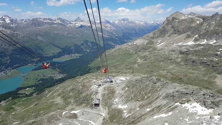 Corvatsch (Ride on Cablecar)