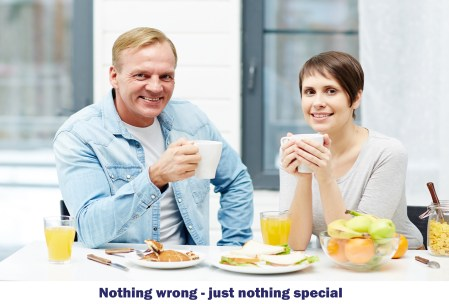 Nothing wrong - nothing special