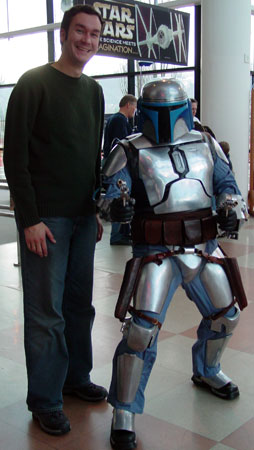 Eric with Jango Fett
