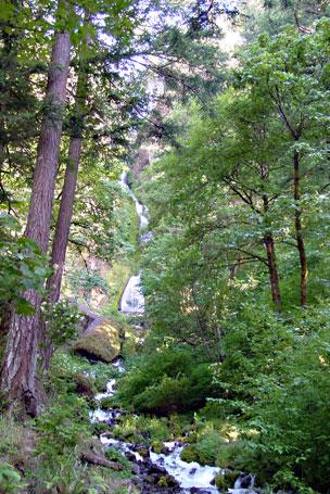 oregon waterfall historic highway