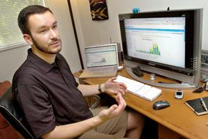 Eric Stoller blogging in Corvallis Oregon