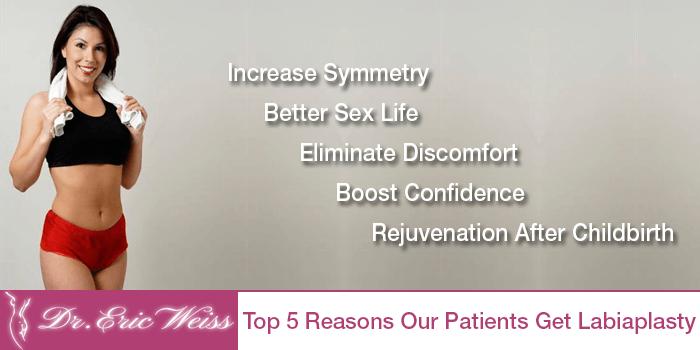 Top 5 Reasons To Get Labiaplasty