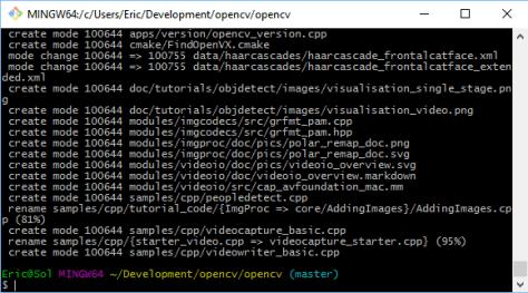 opencv_git_update