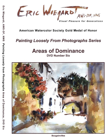 Areas of Dominance, DVD number 6 of 6 from series Painting Loosely from Photographs by Eric Wiegardt AWS-DF, NWS