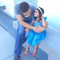 Pure love! Beyond... #meltsmyheart #lomaximo #teamamossebi #daddydaughter @ebwinter