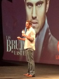 @EricWinter1 Kicking off the @LifetimeTV_PR international upfront 2014 for @WitchesEastEnd ! #DominicanRepublic #Witches #dash