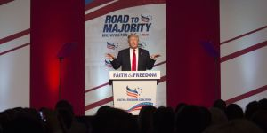 Donald Trump Addresses Faith and Freedom Coalition