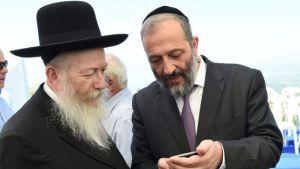 Israeli Orthodox Jewish Politicians Dishonor Shabbat