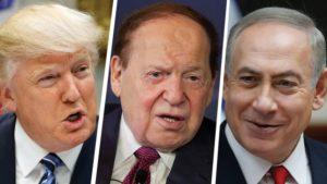 Trump, Adelson, Netanyahu