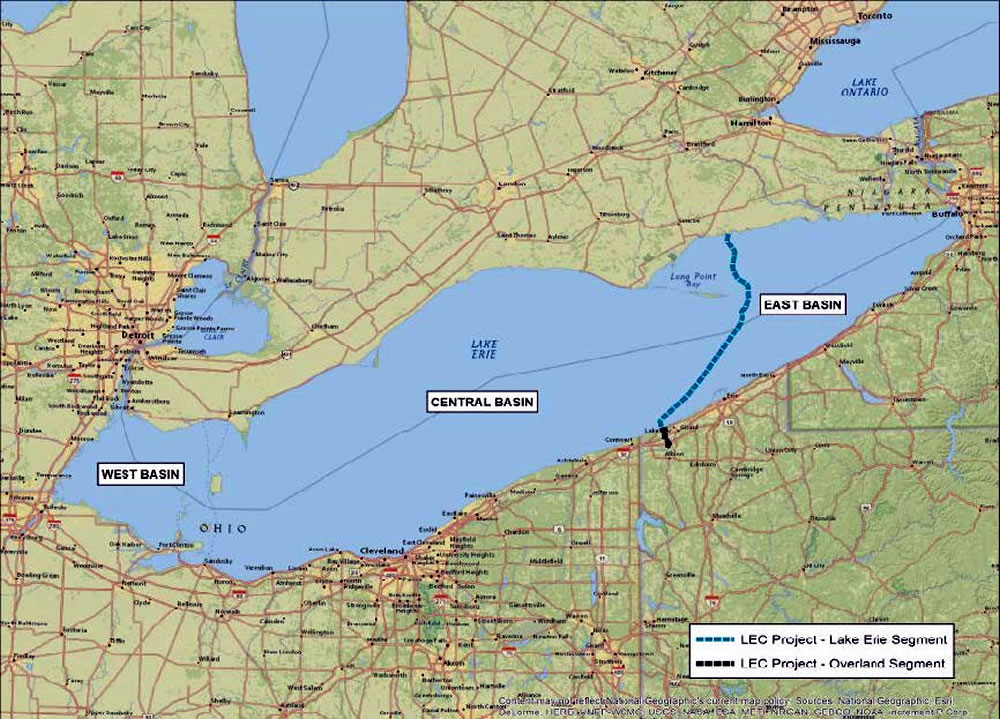 Totally Unnecessary Billion Dollar Lake Erie Power Line Project Still Moving Ahead