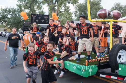Erie Optimists Homecoming Parade