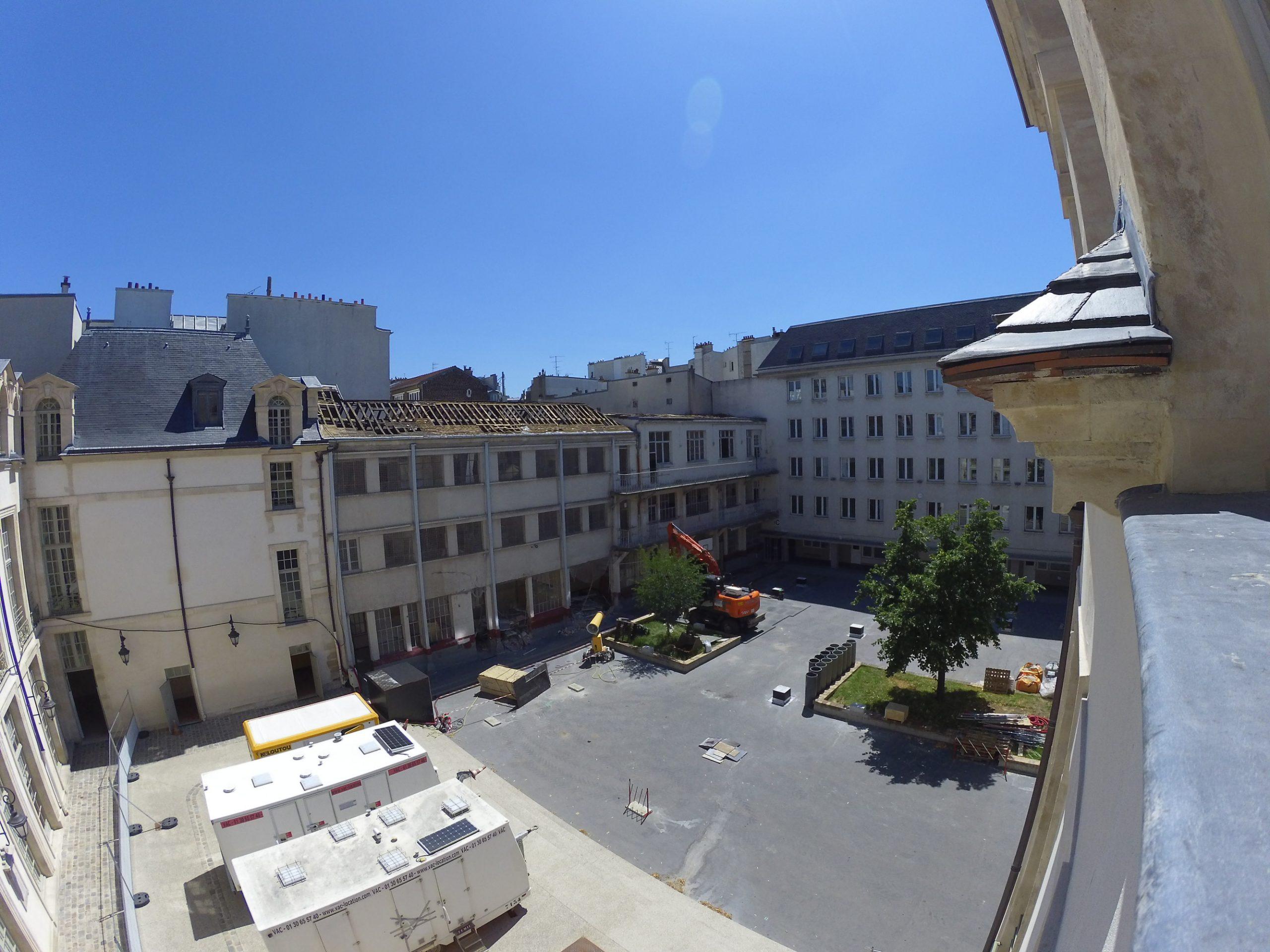 timelapse chantier Eiffage Paris