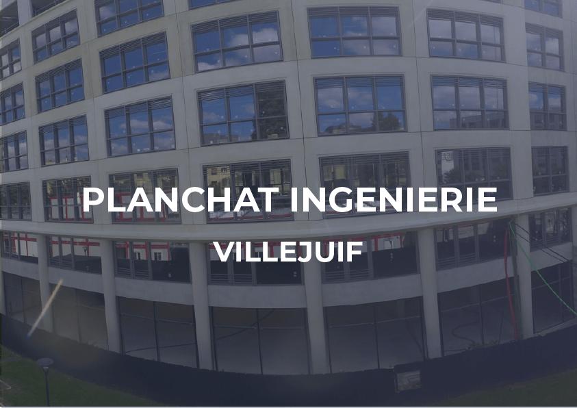 Planchat Ingenierie – Villejuif