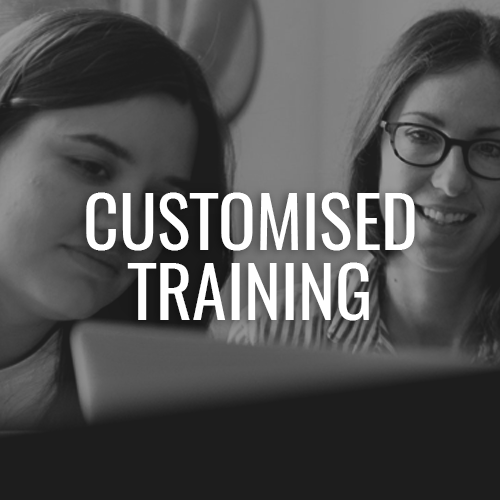 customised training for aged care and home care