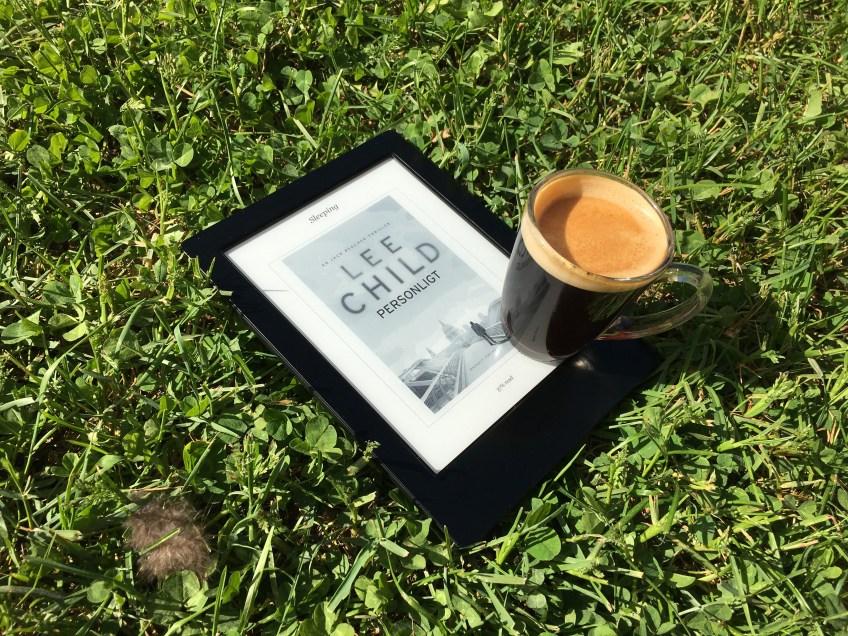Sol, kaffe & Läsplatta!