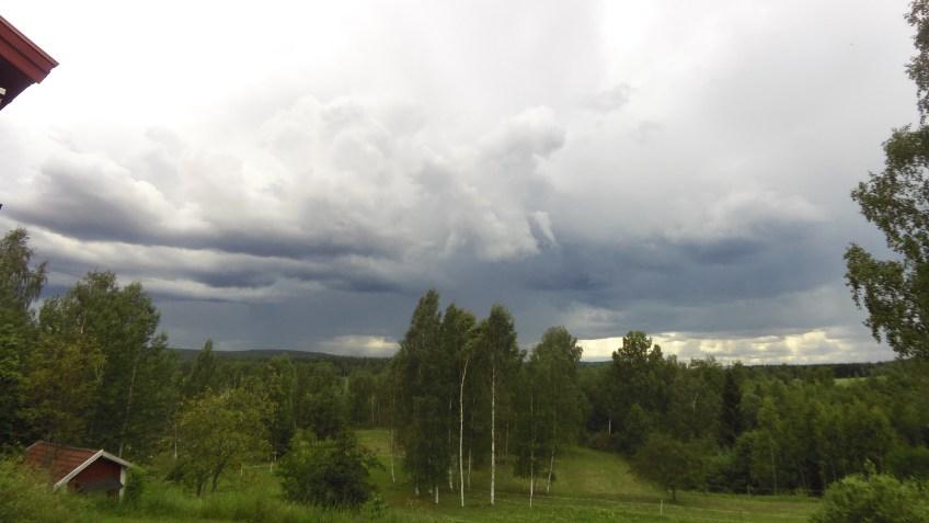 Dagens Cykling i Åska och regn