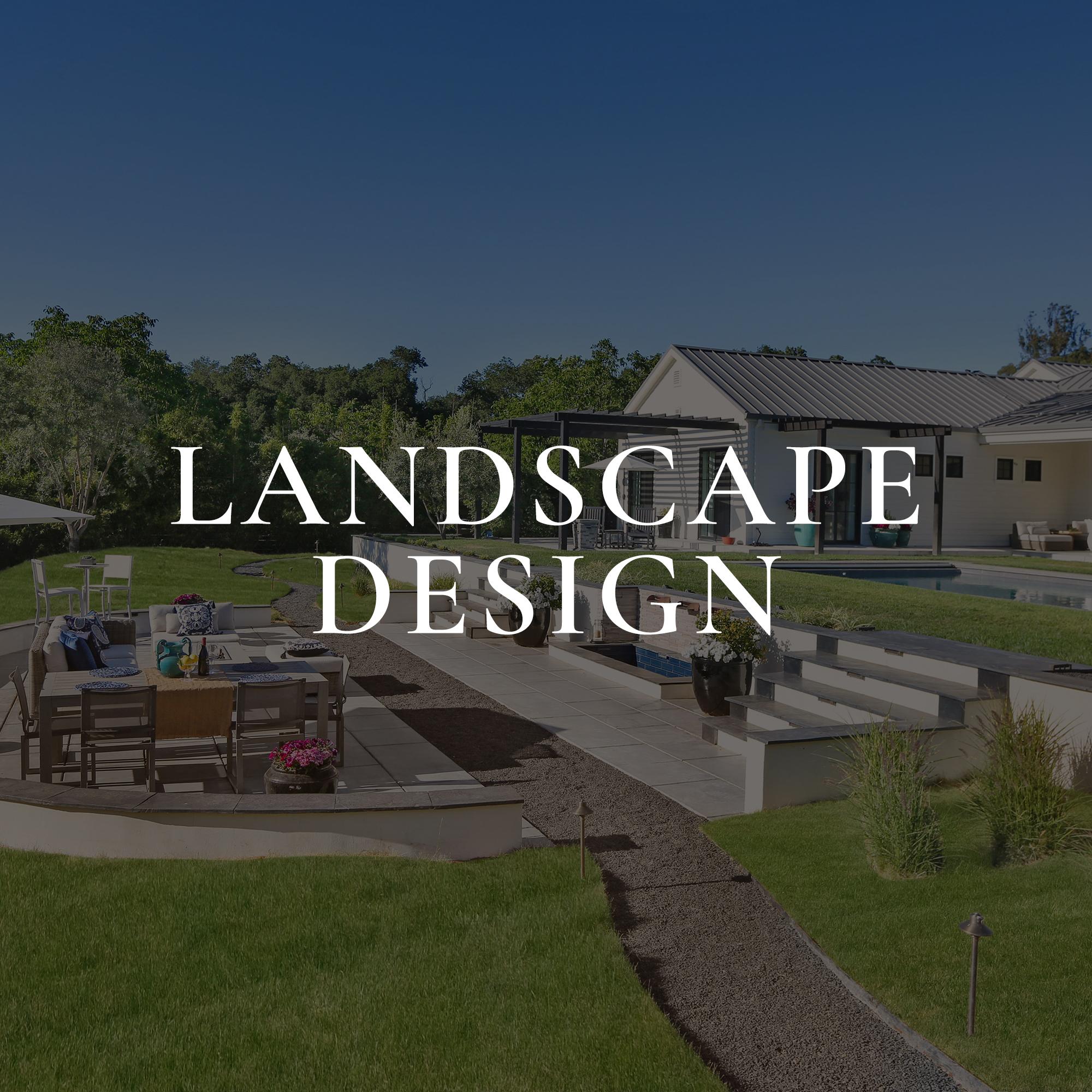 Landscape Design Home