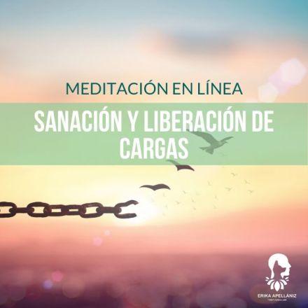 Meditación guiada en línea sanación y liberación de cargas febrero