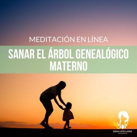 Meditación guiada en línea sanar el árbol genealógico materno
