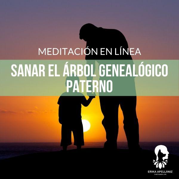 Meditación guiada para sanar el árbol genealógico paterno