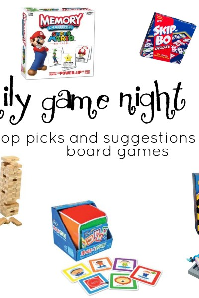 Family Game Night: Board Games for Kids and Families