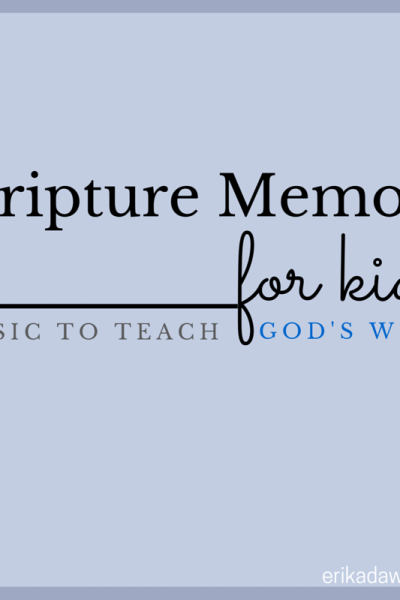 Scripture Music for Kids: Learning God's Word through Song!