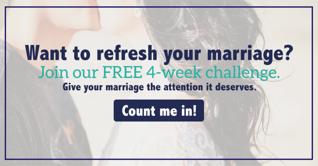 Join our free marriage challenge for couples