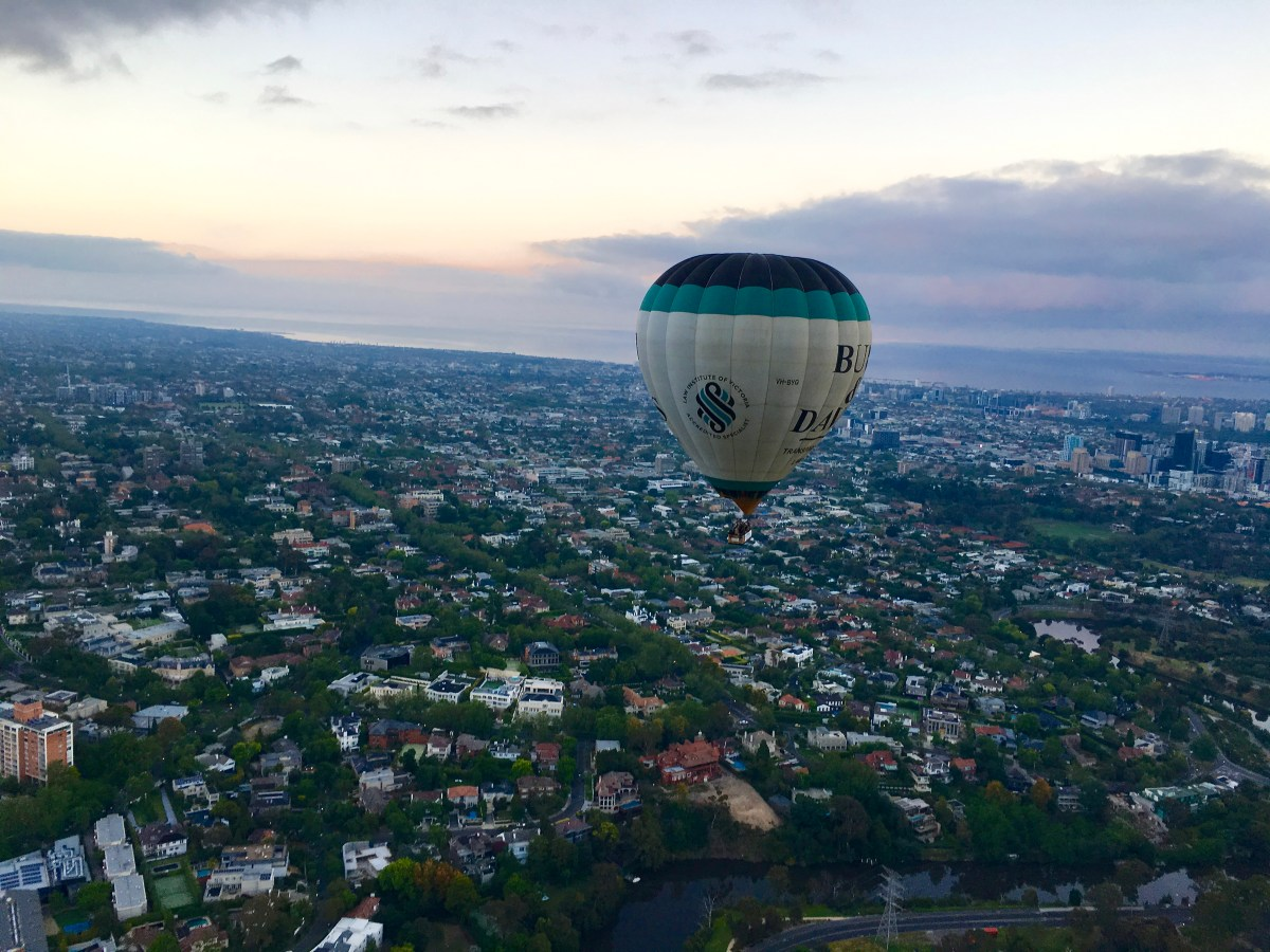 Hot Air Balloon Ride Melbourne