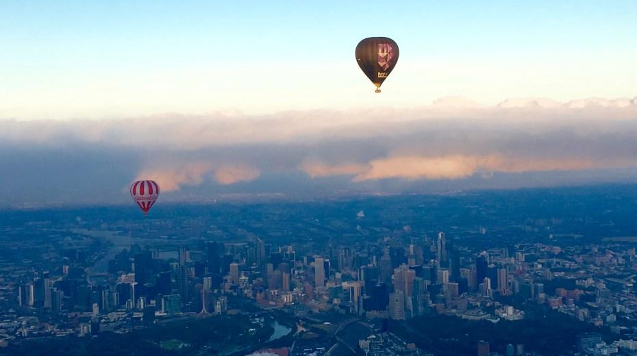 Hot Air Balloon Ride views